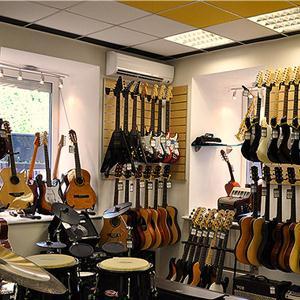 Музыкальные магазины Знаменского